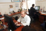 NYT2 - (NYT2) SAN FRANCISCO -- Sept. 5, 2004 --WEB-ENTREPRENEUR -- Craig Newmark, working on his...