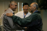 Mark Seevers, cq, surgical assistant, Steven Kim, MD, cq, doctor at Littleton Adventist Hospital...