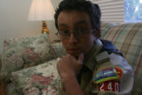 Dominick Breton, (cq), 22, on Monday October 22, 2007 in Wheatridge, Colo. at 3645 Marshall St. in...