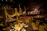 (Denver, Colo., Oct. 20, 2007) The dining area, replete with golden candelabras on the tables. ...
