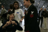 Marie Cosby, who will be 98 on Tuesday, was honored during the Veterans' Salute 2007 held at the...