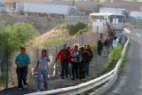 Illegal immigrants caught in the United States are deported through Arizona into Nogales, Sonora,...