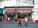 [563] Boston Red Sox fans purchase merchandise from the Red Sox Team Store across the street from...
