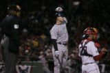 [1835] Colorado Rockies Boston Red Sox inning of Game 2 of the World Series at Fenway Park in...