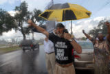 (NYT16) NEW ORLEANS, La. -- Aug. 29, 2007 -- KATRINA-ANNIVERSARY-3 -- Jack Radosta and other...