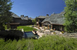 (NYT23) ASPEN, Colo. -- July 1, 2007 -- COLO-EXCLUSIVE-LISTING-3 -- The backyard of Hala Ranch, a...
