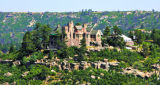 The Cherokee Castle sits above The Keep, a new development in Douglas County Thursday September...