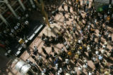 Colorado fans at a pep rally in downtown Dener on Friday morning, Aug. 31, 2007 ahead of...