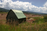 The meadow behind the rustic barn used in Steamboat advertising for years , and used for balloon...