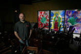 Jesse Morreale stands in his new restaurant, Tambien, at 250 Steele St. in Cherry Creek, Denver,...