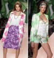 NYT47 - (NYT47) NEW YORK -- Sept. 14, 2004 -- NY-FASHION-WEEK-4 -- Models sport some of the new...