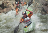 Teva Mountain Games 2003 Kayak Cross held at Dowd Chutes on the Eagle River near Vail.