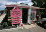 The Scarlett Rose is a former miner's cabin in Lafayette, Colo. July 16, 2007.  Places to Eat!...
