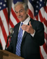 WX102 - ** FILE ** Republican presidential hopeful  Rep. Ron Paul, R-Texas, speaks during a...