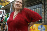 "Raquel Hernandez (cq) has managed ""Discos Aguila de Oro"" for over 30 years. It sits on..."