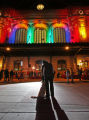 Dozens of people came down to Union Station for the annual lighting of the tree and the historic...