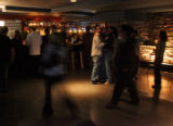 Club goers in Hush nigh club located at 1403 Larimer in Denver's Lower Downtown early Friday...