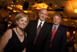 (Denver, Colo., Nov. 10, 2007) Jefferson County Commissioners Kathy Hartman, left, and Kevin...