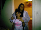 """Me and my daughter,"" is the caption on this photograph from the MySpace page of Amanda..."