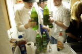 Ft. Collins, Colo., photos taken September 23, 2004-A look at teen drinking on the campus of...