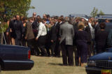 (BEATRICE, Nebraska, September10, 2004) The body is moved into the final resting place position...