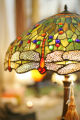 Shopping in Morrison, Colorado for Spotlight on June 20, 2007.  A tiffany lamp for sale at La...