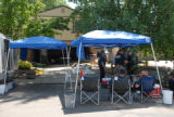 Members of the Boulder County Bomb Squad work at 2404 Sunset Dr. Sunday June 17, 2007 as it was...