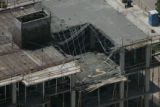(JOE0508) - Thirteen people were injured -- four seriously -- when part of a floor collapsed...