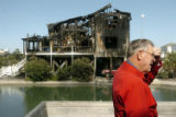 (NYT32) OCEAN ISLE BEACH, N.C. -- Oct. 29, 2007 -- NC-FATAL-FIRE-5 -- Robert Alexander, who lives...