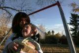 5 year old Micah DeSplinter loves to be outdoors with his mom Cindy. His favorite thing is to...