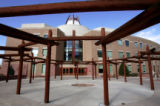 Nighthorse Campbell Native Health Center. A look at the burgeoning architecture at the Fitzsimons...