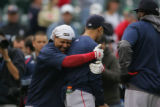[347] Colorado Rockies Boston Red Sox  inning of Game 3 of the World Series on Saturday evening,...