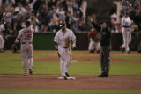 [218} Colorado Rockies  Boston Red Sox inning of Game 4 of the World Series at Coors Field in...