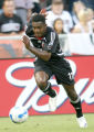 Luciano Emilio in full stride. DC United clashed with the Chicago Fire at RFK stadium in...