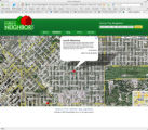 The Rotten Neighbor web site with the Loud & Obnoxious entry shown on Humboldt Street in...