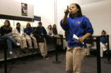 Shala Massey (cq), the operations supervisor at the Best Buy at Colorado Blvd. and Mexico Ave. in...