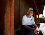 (Denver, CO. - SHOT 5/21/2004) World War II veteran Noboru Ashida, 85, of La Jara, Co. poses for a...