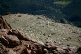 Matt Carpenter nears the summit at the EAS Pikes Peak Marathon in Manitou Springs, Colo., on...