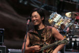 Michael Kang plays with String Cheese at Red Rocks, Morrisson, Colo. Sunday, August 12, 2007.  ...