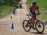 Photo from Over the Bars women's mountain bike camp, June 2007. Photo by Catherine Lutz/Special to...