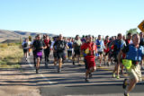 Competitors start the 2006 Bearable Adventure Race at Bear Creek Lake State Park. Special to the...