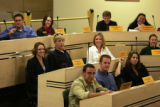 Ft. Collins, Colo., photo taken September 21, 2004- CSU Student Senate meet in the senate chambers...