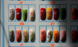 The Hollywood Nail Supply has any design you can imagine or want on Colfax Ave., in Denver, Colo....