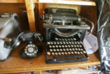 An old phone and typewriter sit in the store at 30-Mile Resort, Tuesday afternoon, August 28,...