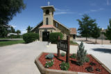 St Theresa's Catholic Church in Frederick, Colo. on Monday August 13, 2007, was one of the...