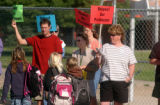 Broomfield, CO.- MAY 24,2004- More than 270 teachers in Boulder valley school district called in...