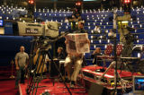 07/28/2004 Boston-Members of the media wait for the evening's proceeding's to begin at the...