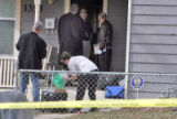 Wheat Ridge Police  search the home of Tyler James Martin (cq) in the 1300 block of Oceola Street...