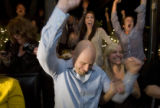 DM0215  57069 The West End Tavern erupts in celebration after Hosea Rosenberg, the chef at...