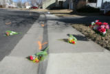 Skateboarding  accident scene in the 12,200 block of W. 85th Ave. in Arvada on Thursday February...
